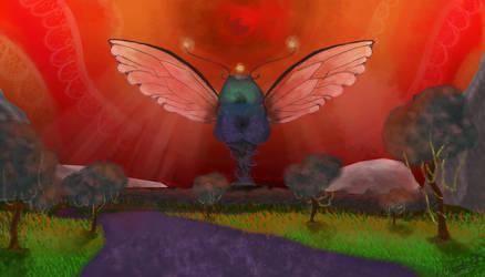 Homework- Fantasy Enviroment by Julie947