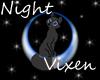 Night vixen by Melesifant