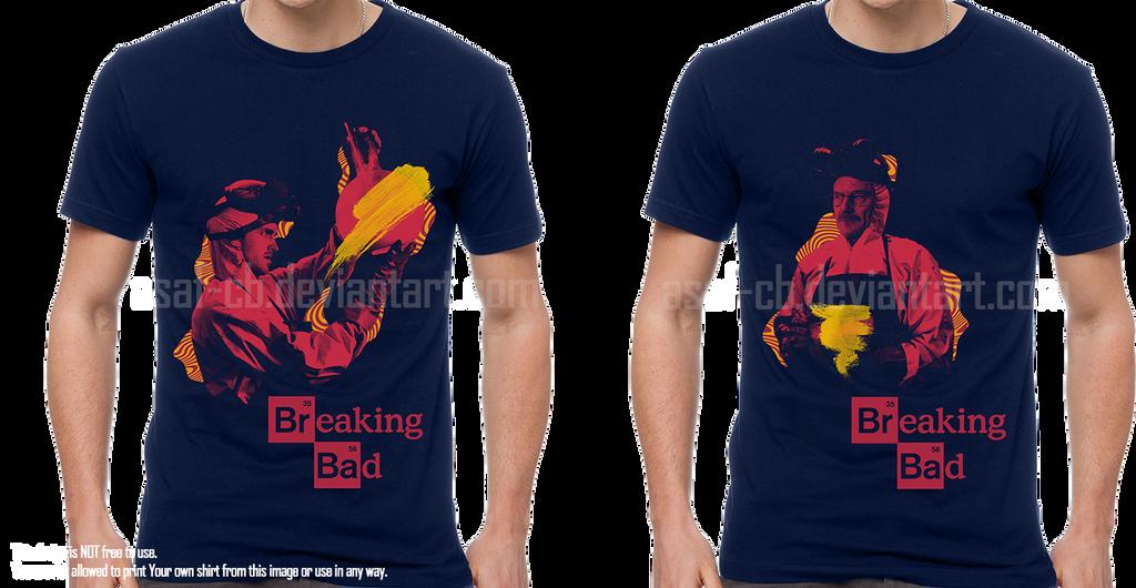 Breaking Bad shirt by asaf-CB
