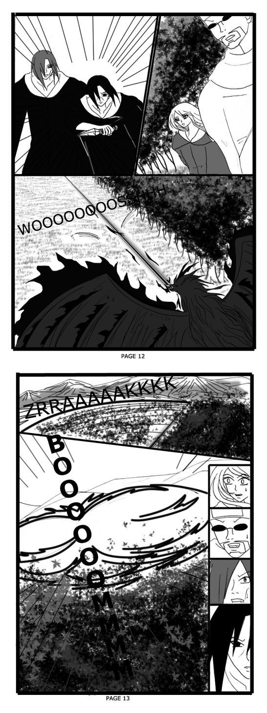 itachi doujinshi page 12-13 by TayaGi-pArdH
