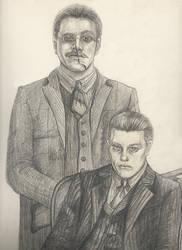 Richard Harrow and Jimmy Darmody by L1993