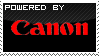 Powered By Canon - Stamp by Habjan