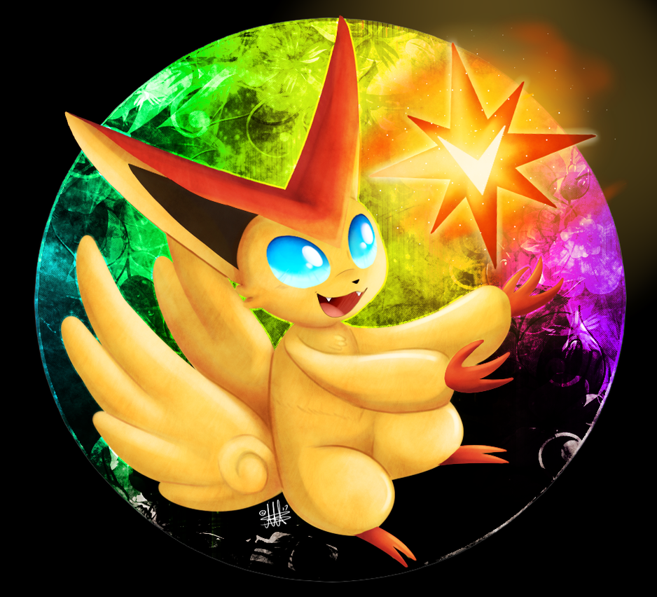 victini by thepipefox