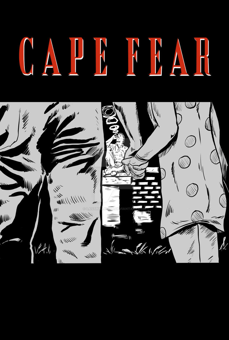 Cape Fear Poster by Lastbulletink