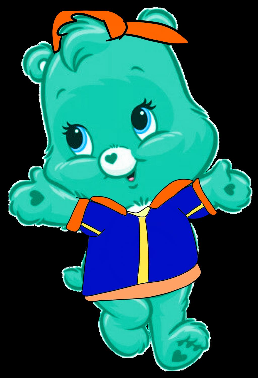 Tranqiuility Heart Bear as Teen Huckleberry Hound