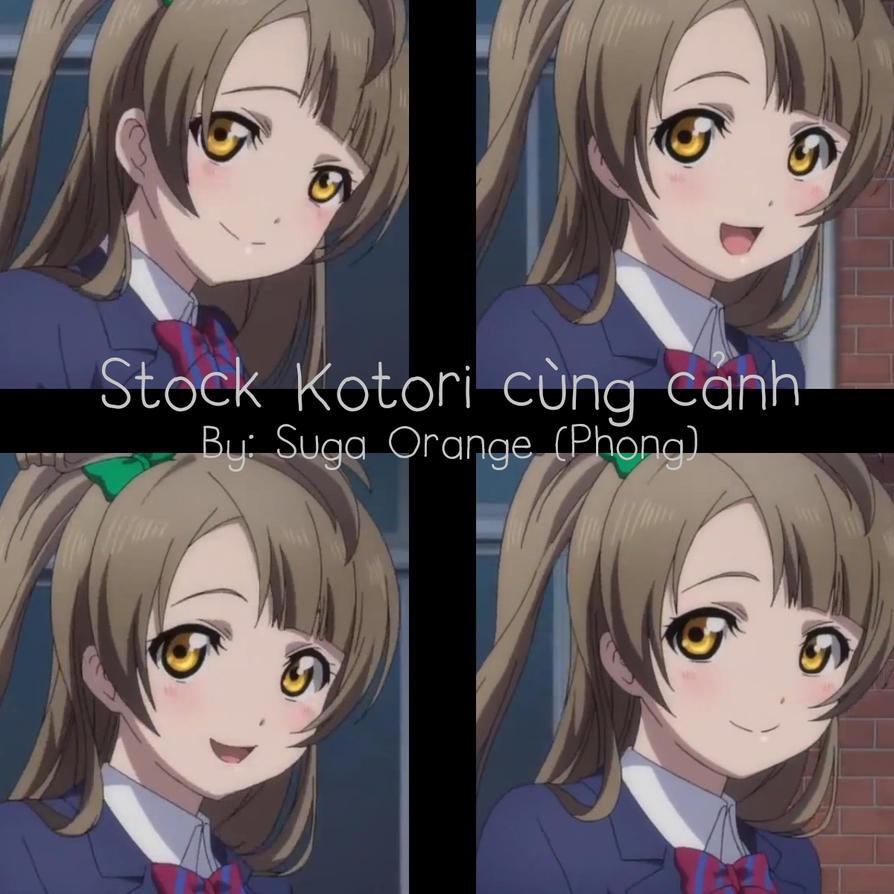 Stock Kotori By Suga Orange by SugaOrange