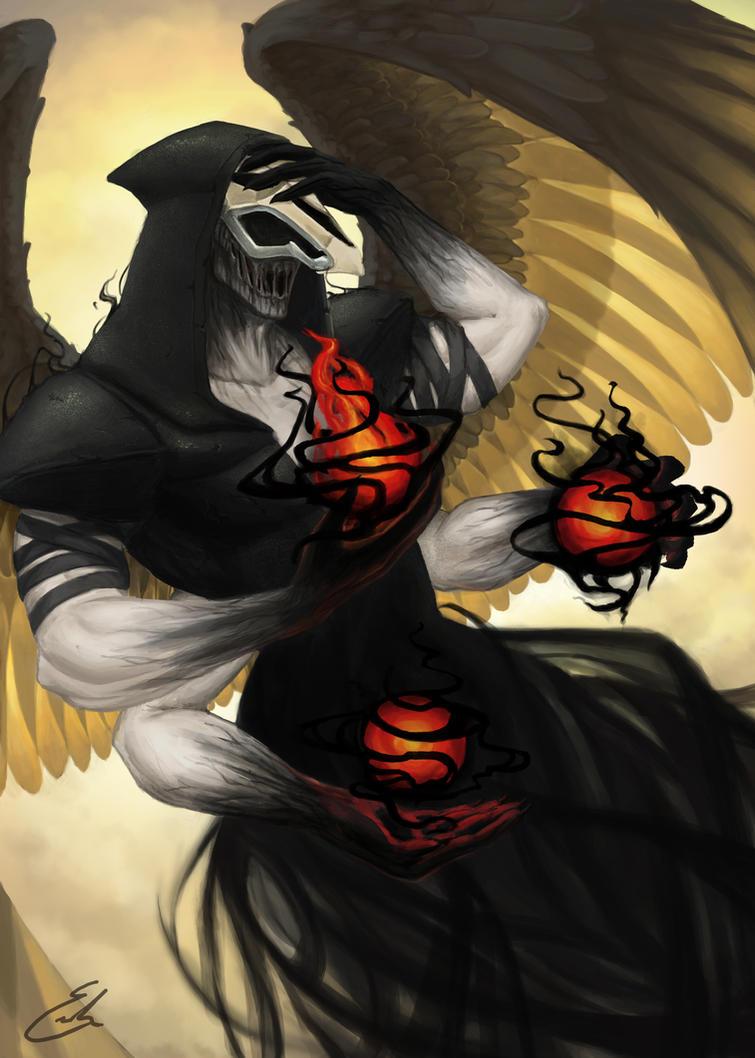 Archangel Gabriel by summerintevinter