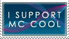 I Support Mc Cool Stamp by mc-cool