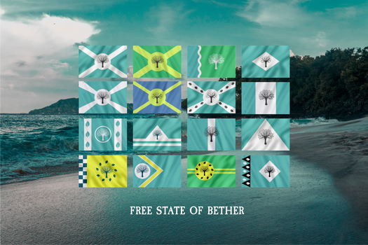 Flags of the Free State of Bether