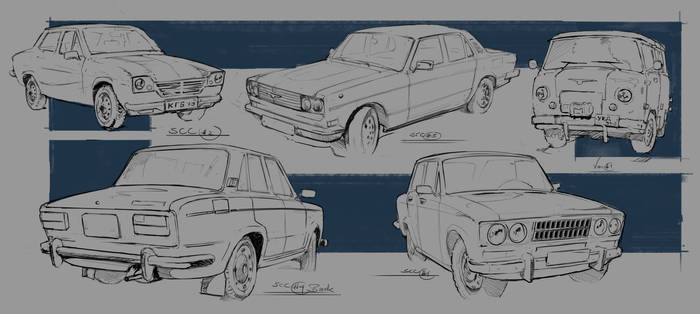 Small Civilan Car Designs