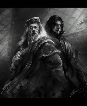 Dumbledore and Snape