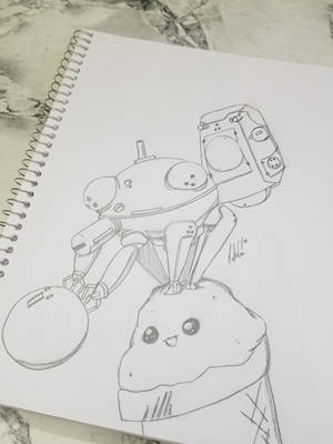 Tachikoma Summer Fun by MasterGo