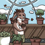 Saya's Secret Greenhouse