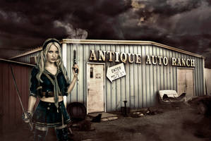 Sucker Punch: Baby Doll - Antique Auto Ranch by elsoria