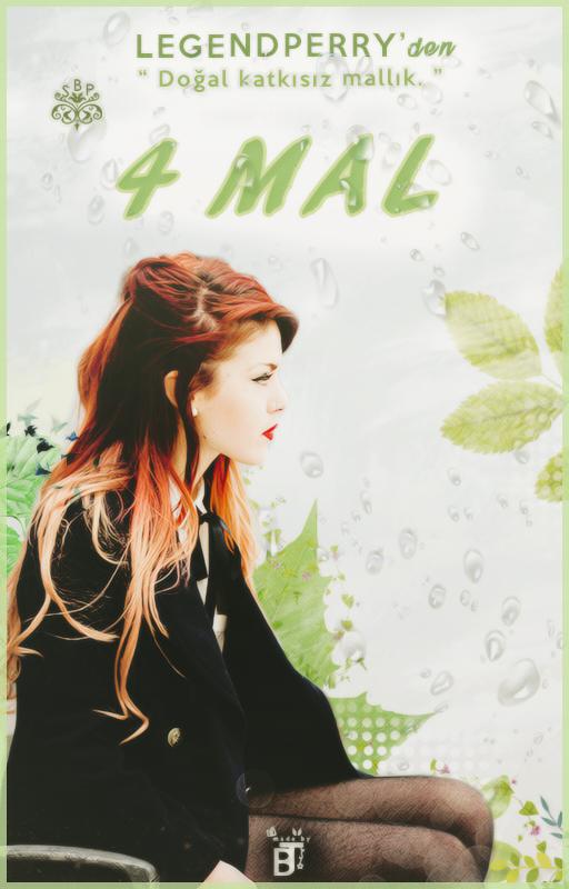 4 Mal Wattpad Book Cover #8 by BeyzaT