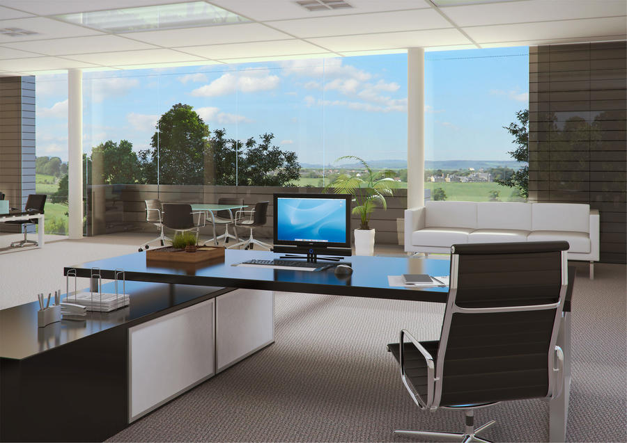 Executive office by idontwanna on deviantart for Best executive office design