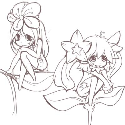 Flower fairy by orange9714