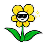 Cool Flowey :D by BorshikAbber