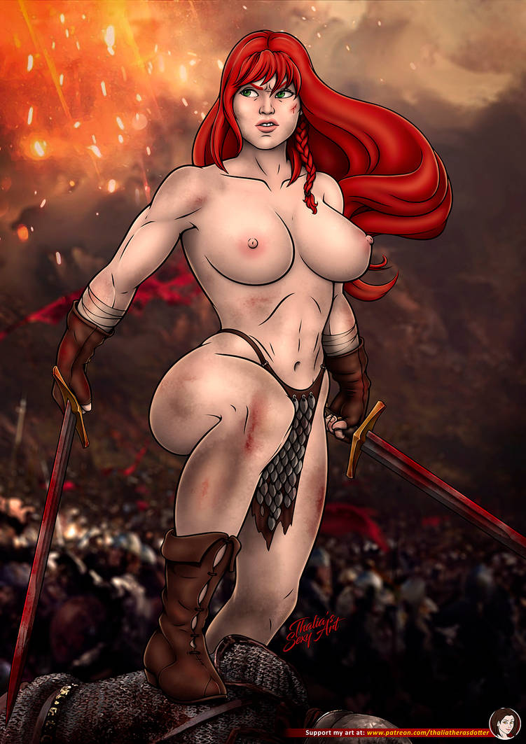red sonja topless by thalia therasdotter dejai5z
