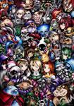 The Legend of Zelda by SandraInk