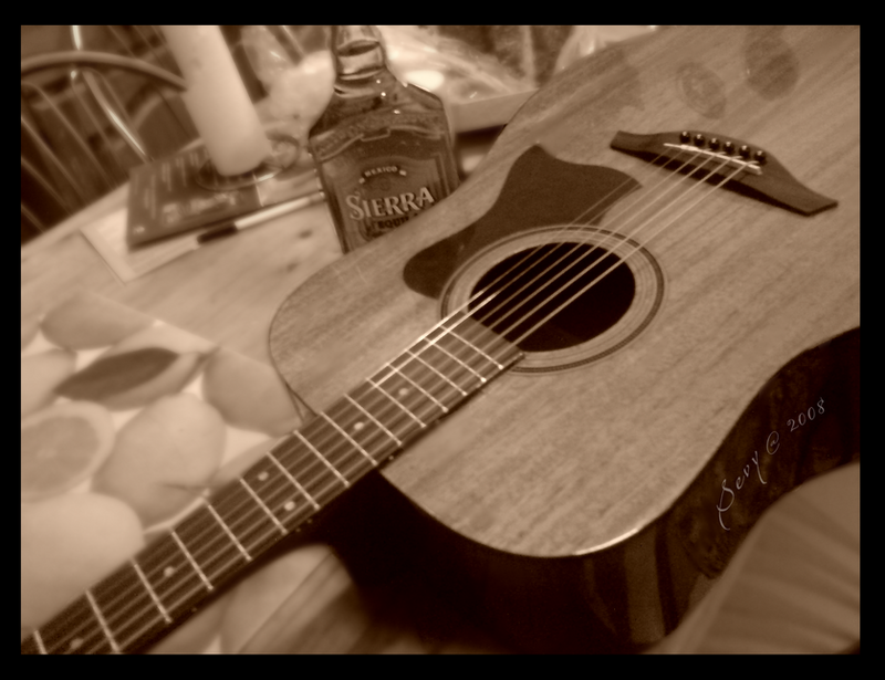 Tequilla and Guitar by 2peysta
