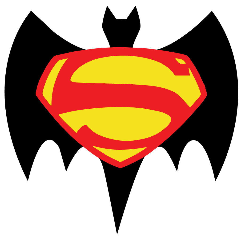 Batman V Superman Retro Logo by Jarvisrama99 on DeviantArt