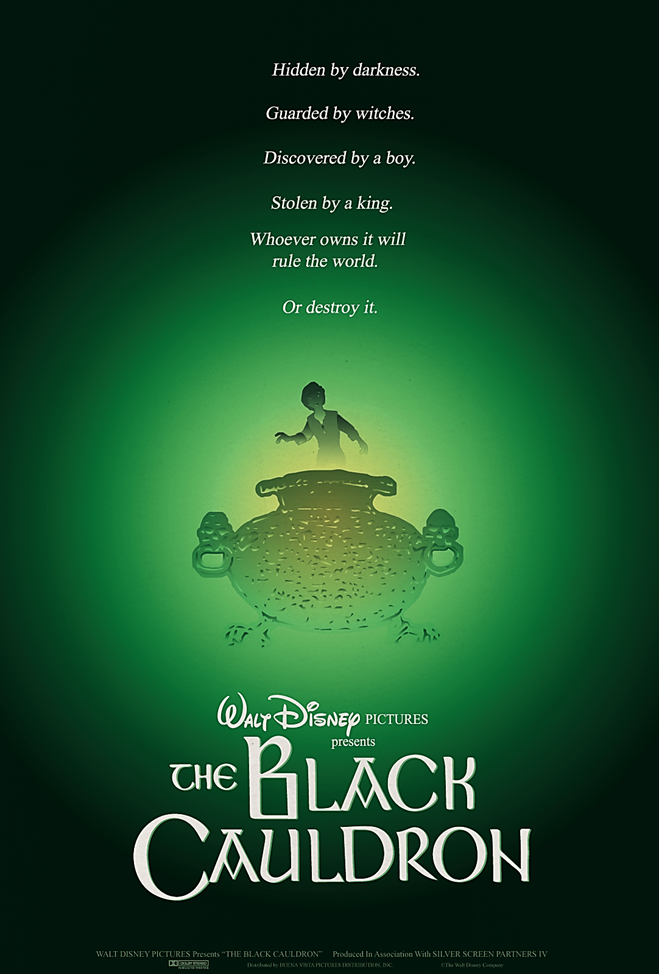 Image result for poster the black cauldron