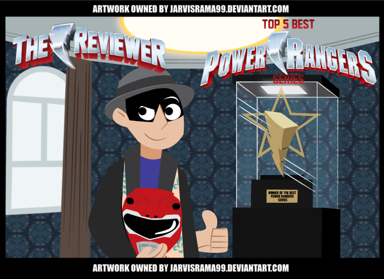 TOP 5 BEST POWER RANGERS SERIES REVIEW TCARD by Jarvisrama99