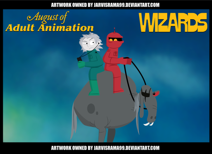 AUGUST OF ADULT ANIMATION - WIZARDS TCARD by Jarvisrama99