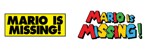 Mario is Missing! Logo Redesign by Jarvisrama99