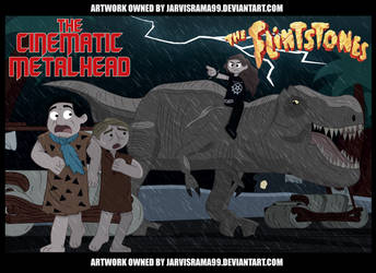 THE FLINTSTONES REVIEW TCARD by Jarvisrama99