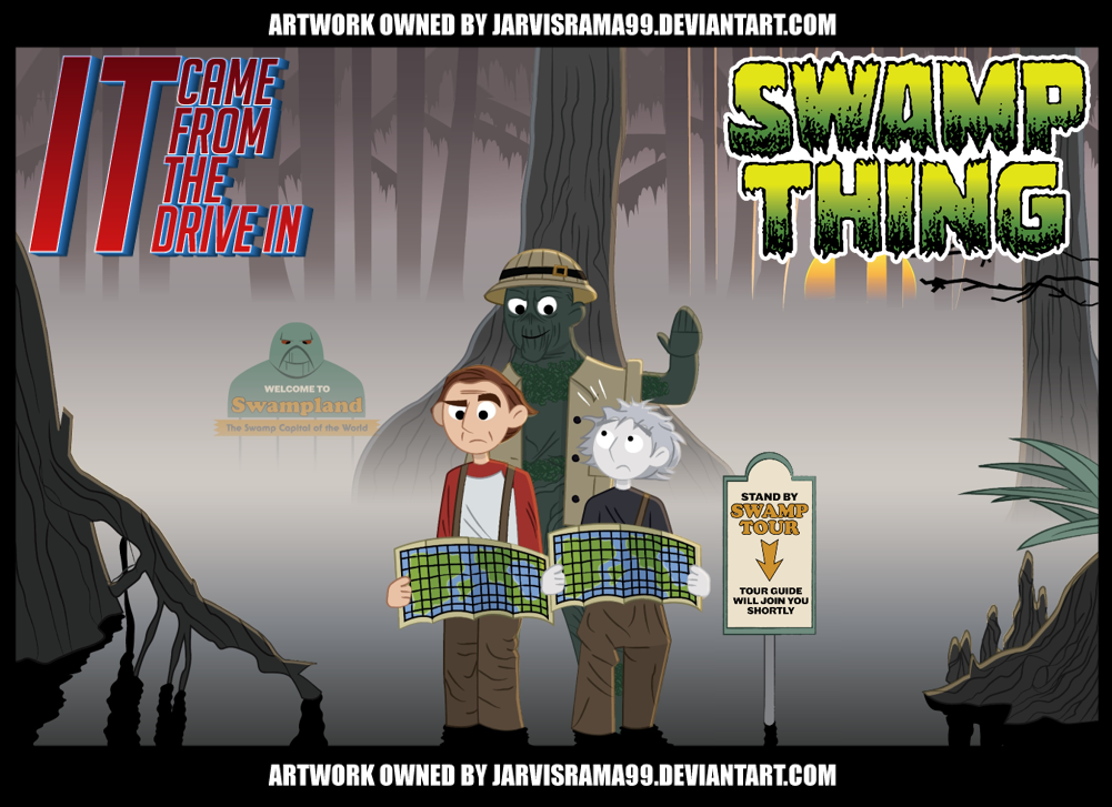SWAMP THING REVIEW TCARD by Jarvisrama99