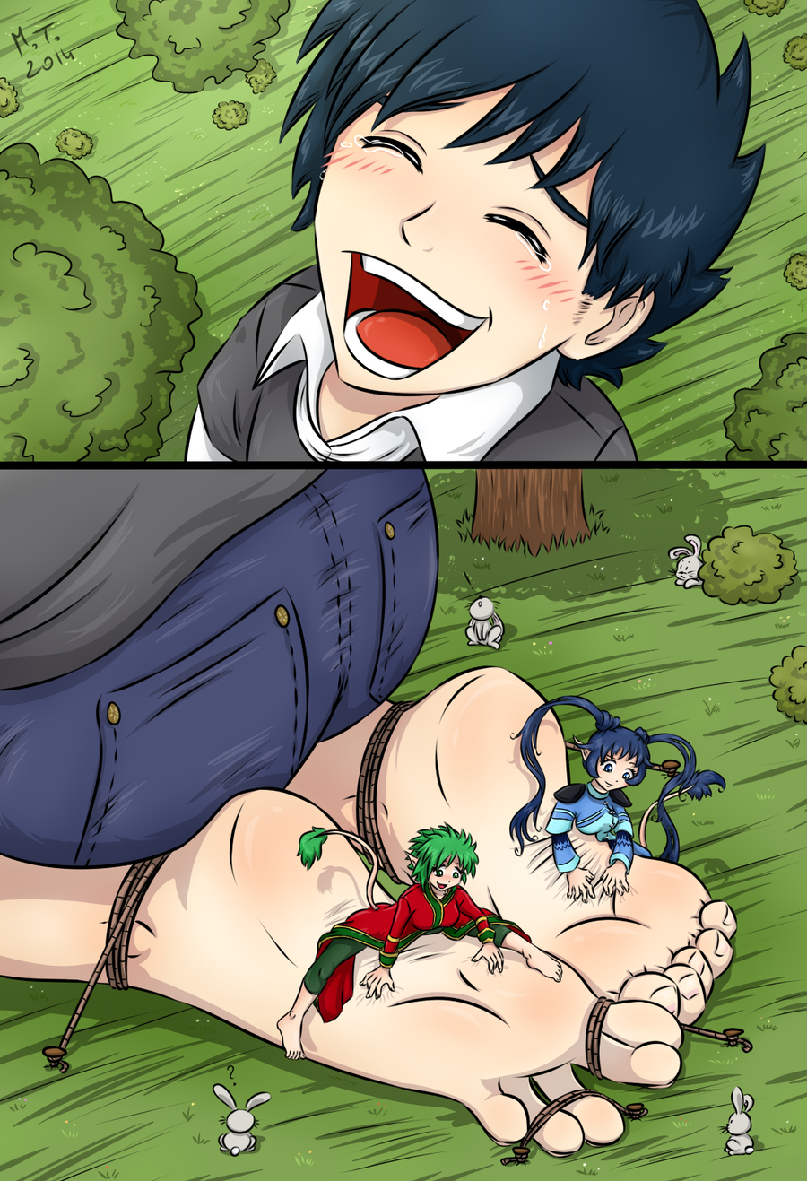 Anime ticklish dick hentay pic