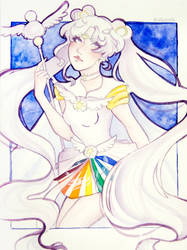 Sailor Cosmos - Commission by AiKuroshi
