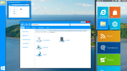 YAW8C - Windows 8 Mockup 2 by JamesHD2K