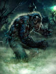 Wolfman color by Thoriq