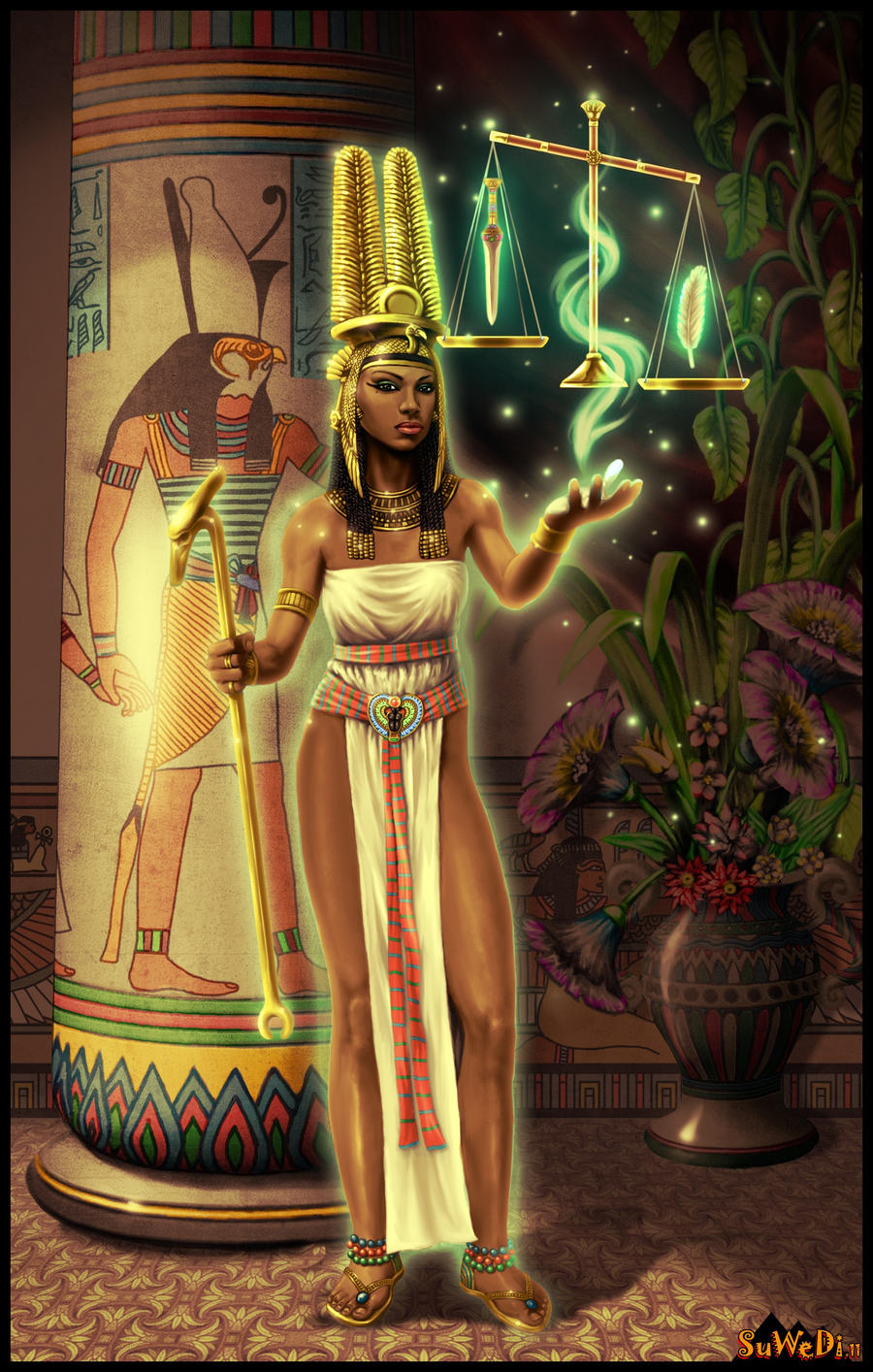 QUEEN AHMES-NEFERTARI-V3 by LeeReex on DeviantArt