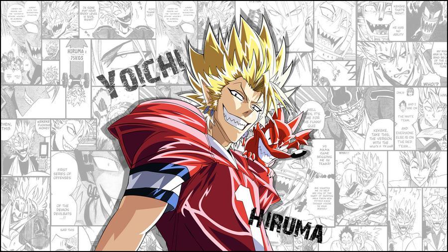 Hiruma Wallpaper By Prescilla25