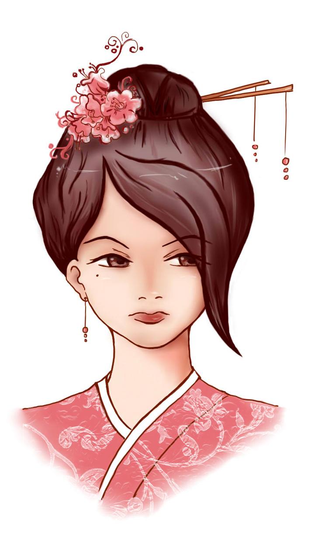 Kimono Girl by Syuichiyatsue on DeviantArt