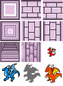 Tiles and scrapped sprites by Manasurge