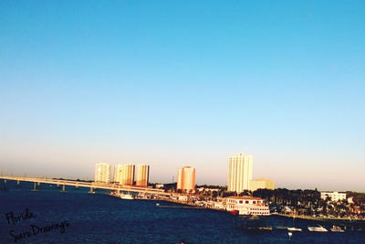 Florida it's a nice place by SaruDrawing
