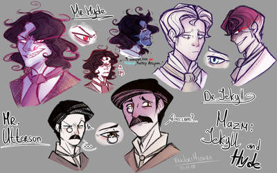 Sketch - MazM: Jekyll and Hyde