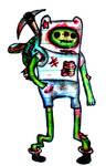 Finn The Human Zombie