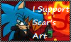 I support  scar's art stamp by abbyfirecat