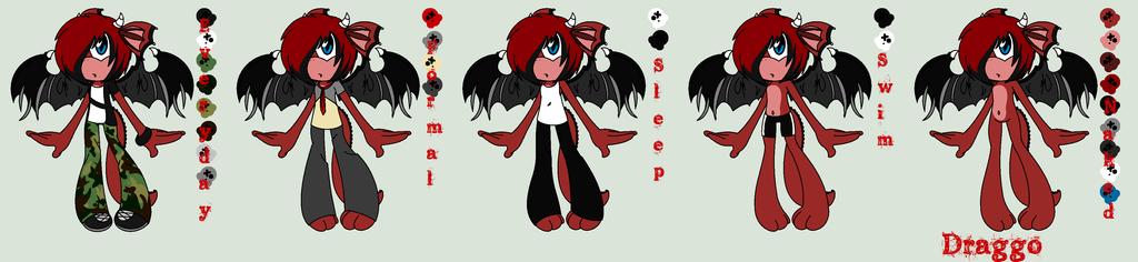 Draggo Dragon by abbyfirecat