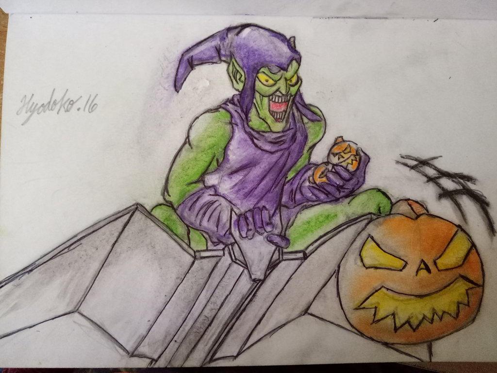 The Gnarly Green Goblin by GendaiNoSamurai
