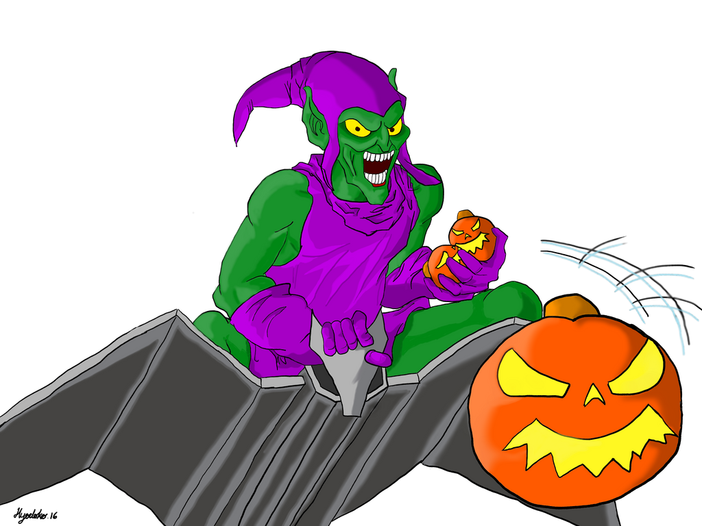 Green Goblin by GendaiNoSamurai
