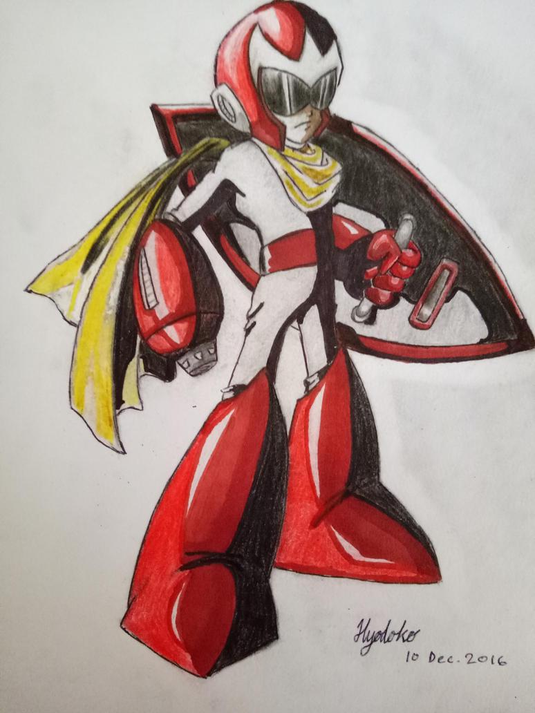Proto Man by GendaiNoSamurai