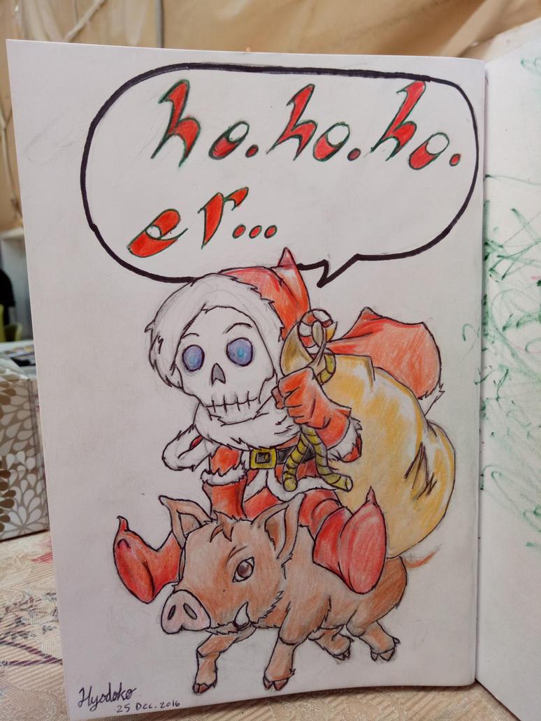 Merry Christmas and Happy Hogswatch :) by GendaiNoSamurai