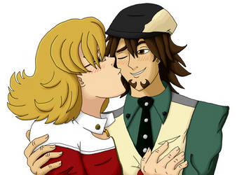 Commission - Kotetsu and Barnaby Being Cute by Stellarness